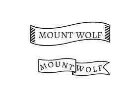 """Nro 100 kilpailuun need a logo for our new brand """"mount wolf"""" käyttäjältä AlShaimaHassan"""