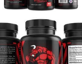talk2anilava tarafından Label Design for testosterone booster - NO Logo design ! için no 55