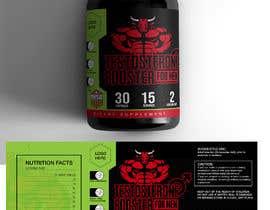 DuraiVenkat tarafından Label Design for testosterone booster - NO Logo design ! için no 122