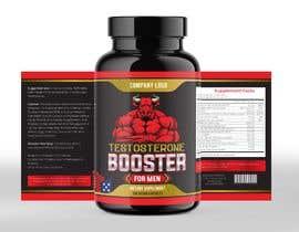 rabiulsheikh470 tarafından Label Design for testosterone booster - NO Logo design ! için no 123