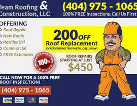 #3 for Design a Banner for Marietta Roofing Services af dani786