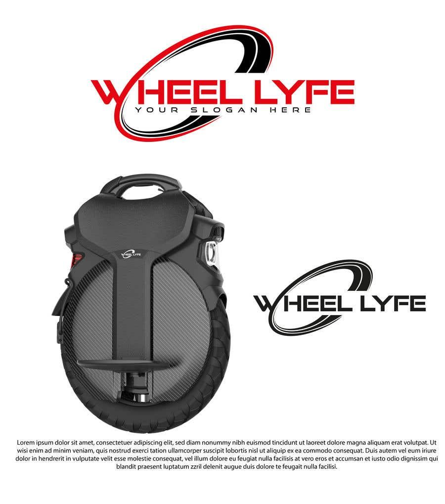 Bài tham dự cuộc thi #                                        81                                      cho                                         EUC Wheel Lyfe Logo Design