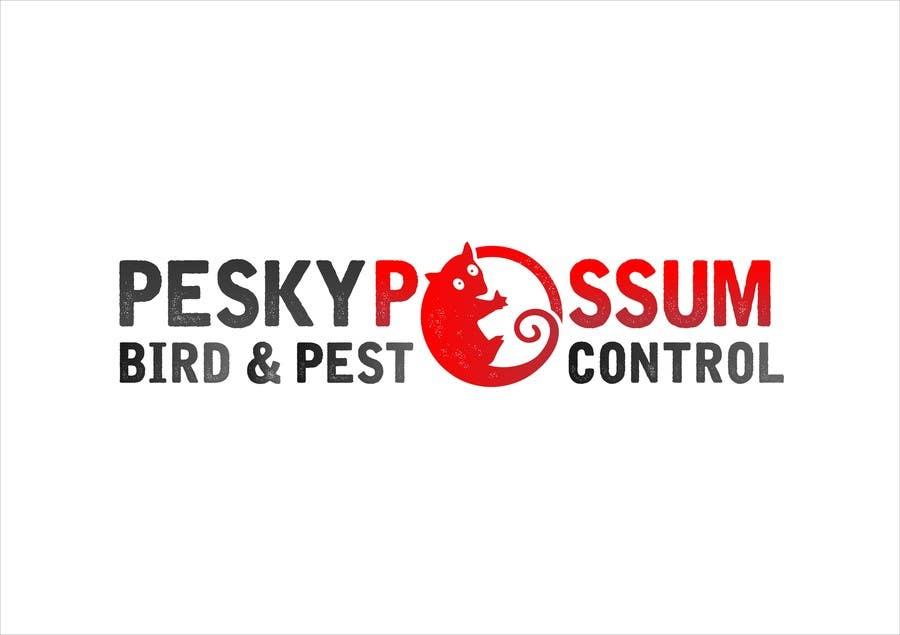 Penyertaan Peraduan #37 untuk Design a Logo for Pesky Possum Pest Control