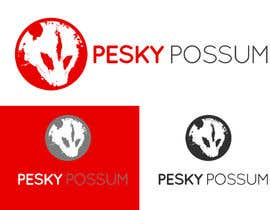 #80 for Design a Logo for Pesky Possum Pest Control af SivaKarthiDot