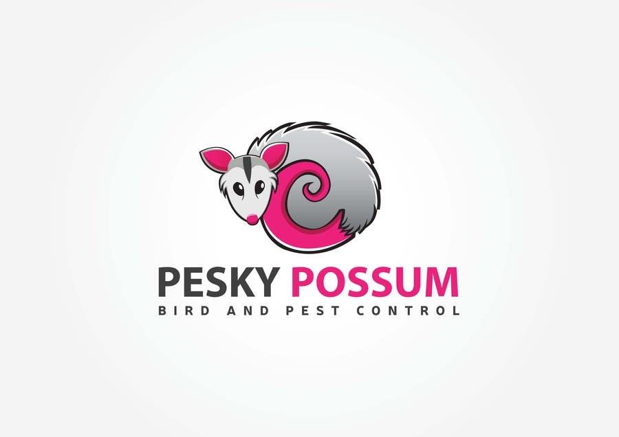 Penyertaan Peraduan #74 untuk Design a Logo for Pesky Possum Pest Control