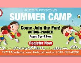 arifhossen21 tarafından Summer Camp Banner Design için no 166