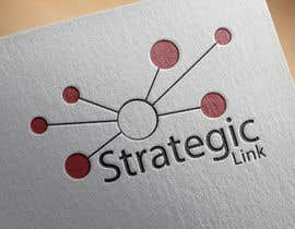 "nº 7 pour Design a Logo for ""Strategic Link"" par shmahmed"