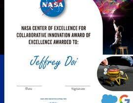 #80 для NASA Challenge: Design a CoECI Team Member Certificate от cgmeli1993