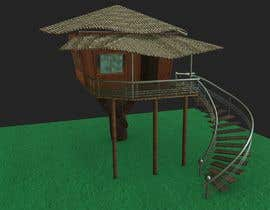 #94 para Design a treehouse on top of a tree that was trimmed and cut por mdmahdiul