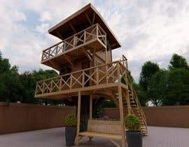 #74 para Design a treehouse on top of a tree that was trimmed and cut por Davidyogi23