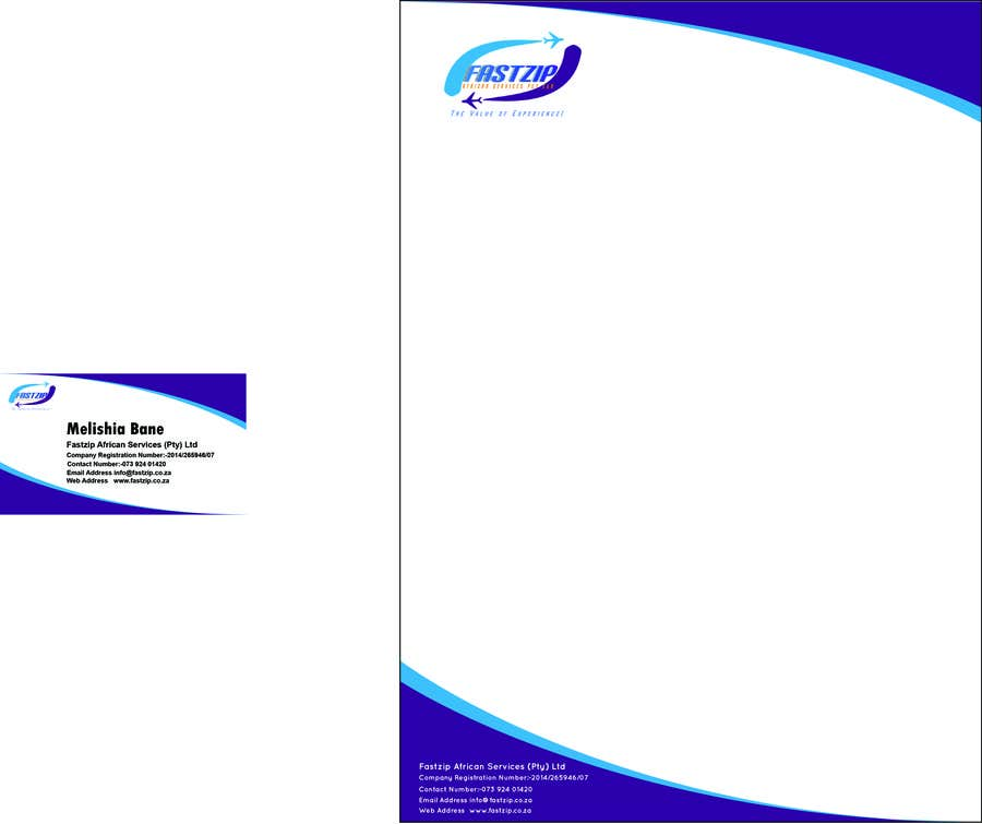 Konkurrenceindlæg #                                        9                                      for                                         Design Letterhead and Business Card for a travel business