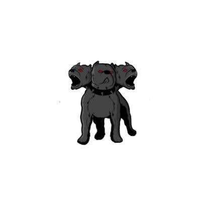 Kilpailutyö #                                        101                                      kilpailussa                                         cerberus puppy