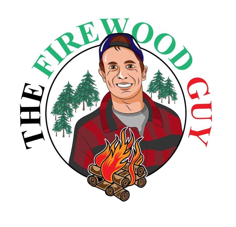 """Bài tham dự cuộc thi #                                        28                                      cho                                         """"The Firewood Guy"""" Logo"""
