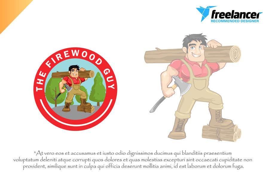 """Bài tham dự cuộc thi #                                        19                                      cho                                         """"The Firewood Guy"""" Logo"""