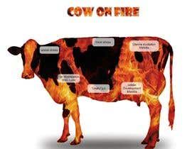 #11 for Make me a Cow Fire Graphic by tatang5678