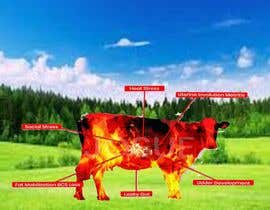 #22 for Make me a Cow Fire Graphic by sarwaralam5755