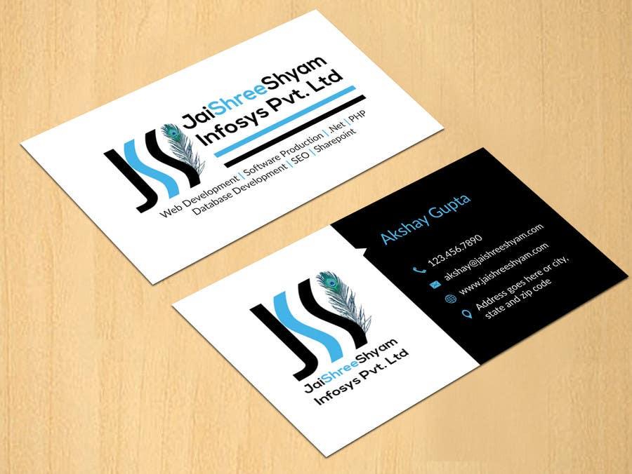 Konkurrenceindlæg #                                        6                                      for                                         Design some Business Cards for My Business