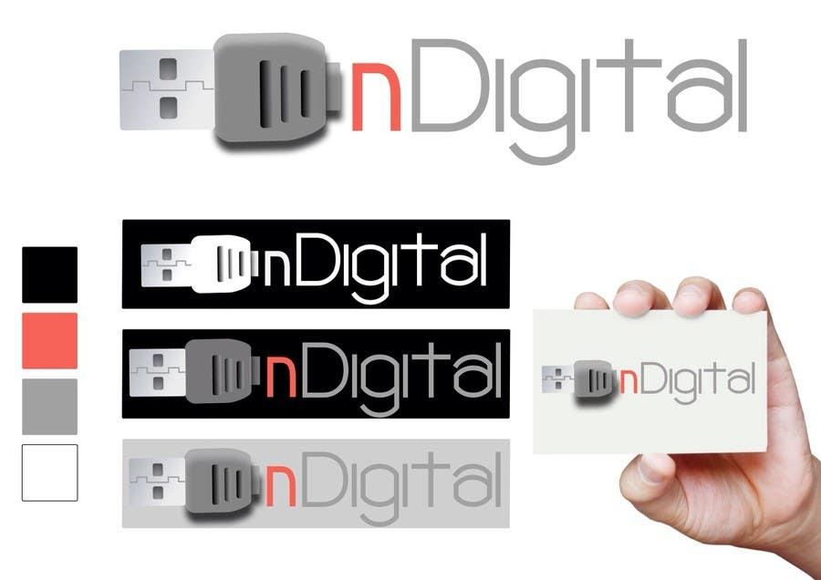 Inscrição nº 68 do Concurso para Design a Logo for a new company - nDigital