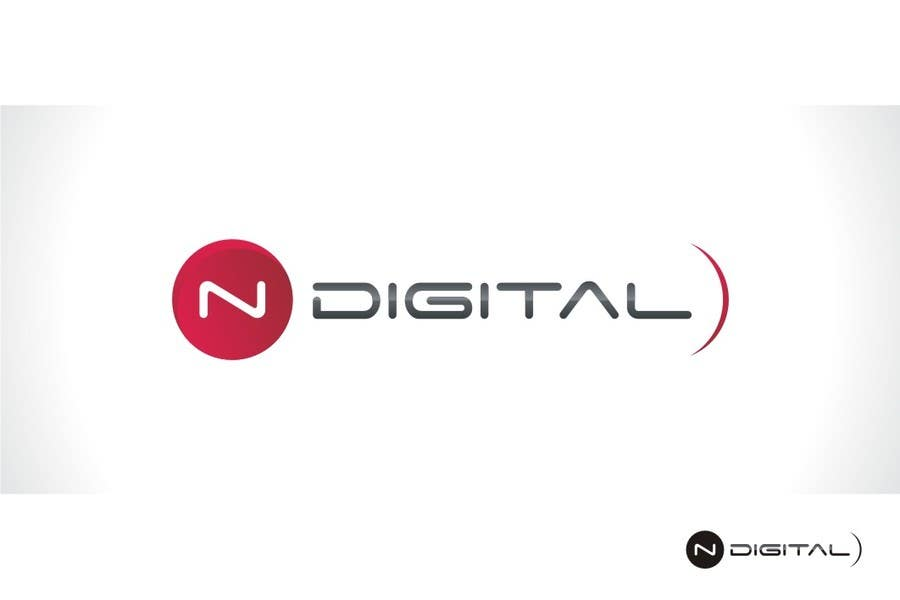 #109 for Design a Logo for a new company - nDigital by rimjhimarts