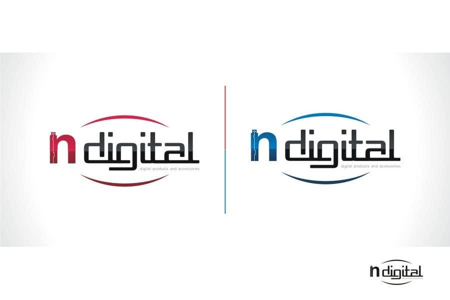Inscrição nº 268 do Concurso para Design a Logo for a new company - nDigital