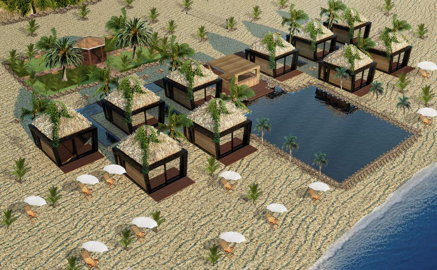 Contest Entry #                                        12                                      for                                         Beach Bungalows Design