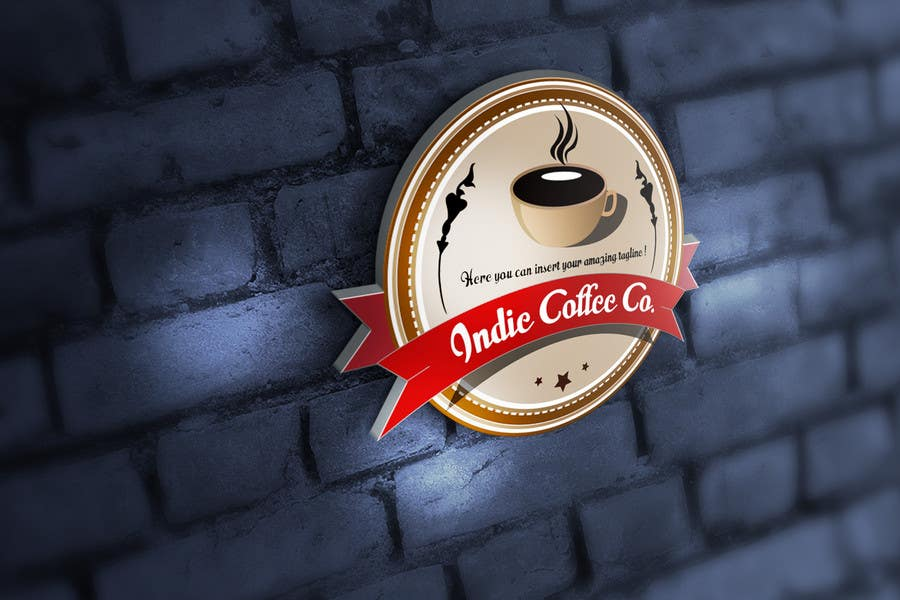 Contest Entry #88 for Design a Logo for Indie Coffee Co.