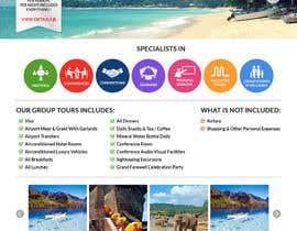 dani786 tarafından Design a Website Mockup for www.SriLankaMICE.com için no 20