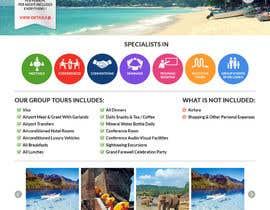 dani786 tarafından Design a Website Mockup for www.SriLankaMICE.com için no 23