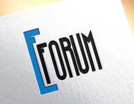 #165 para eForum logo por dezigningking