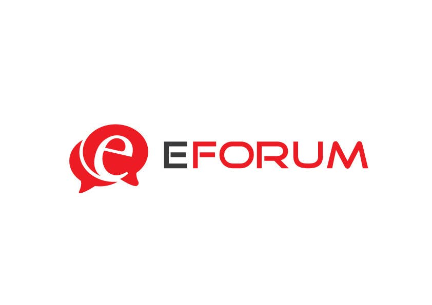 Penyertaan Peraduan #105 untuk eForum logo