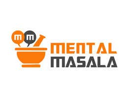 #23 for Design a Logo for Mental Masala (www.mentalmasala.com) af brijwanth