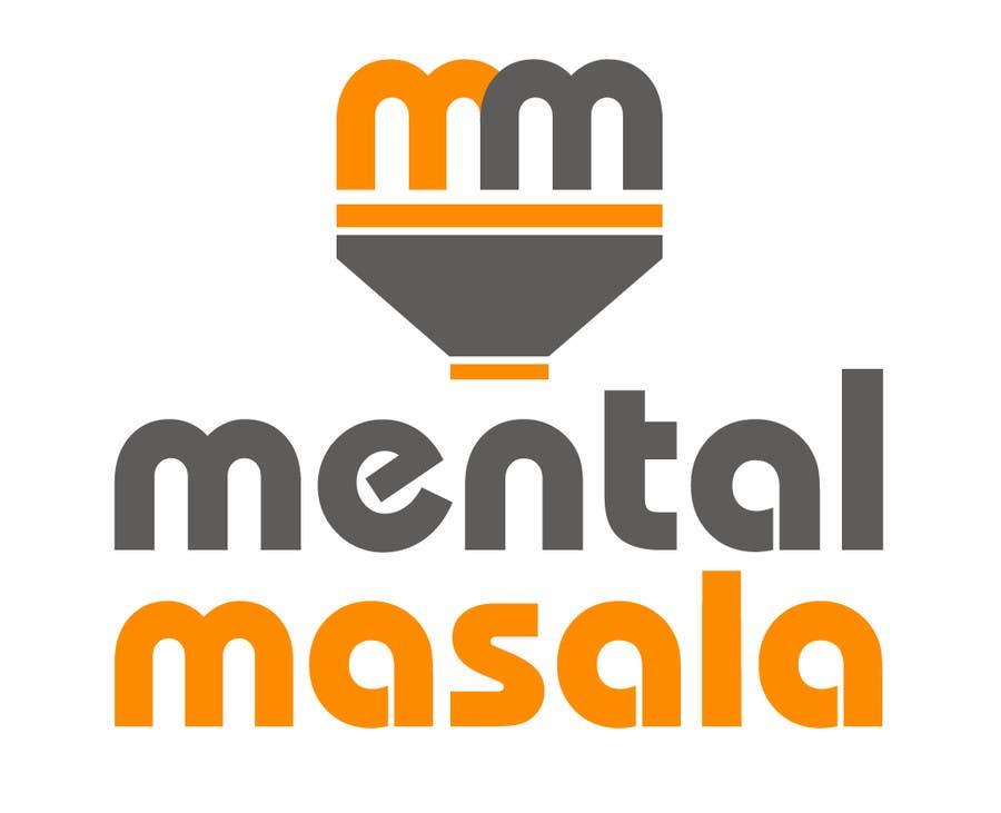 Konkurrenceindlæg #                                        44                                      for                                         Design a Logo for Mental Masala (www.mentalmasala.com)