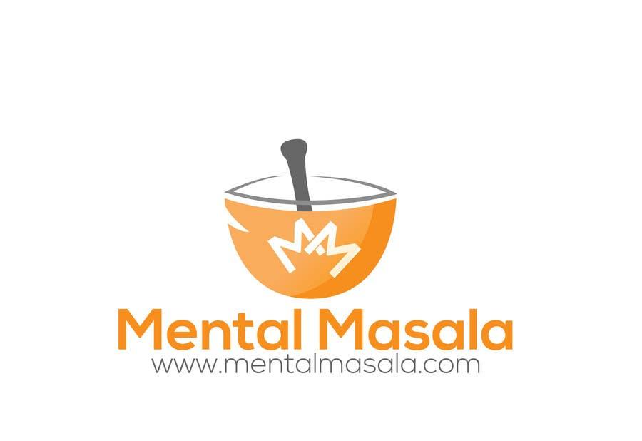 Konkurrenceindlæg #                                        5                                      for                                         Design a Logo for Mental Masala (www.mentalmasala.com)
