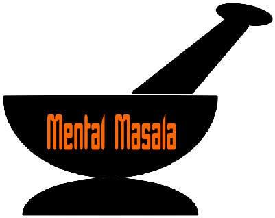 Konkurrenceindlæg #                                        45                                      for                                         Design a Logo for Mental Masala (www.mentalmasala.com)