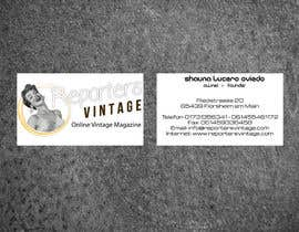 #29 for Design Business Cards and Advertisement for Reporters Vintage af casdesignstudio