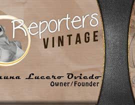 #31 for Design Business Cards and Advertisement for Reporters Vintage by confrosh