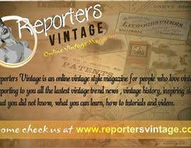 #26 for Design Business Cards and Advertisement for Reporters Vintage by utkarshpanwar