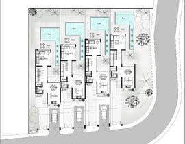 #14 for Help me draw 4 design vacation homes/apartments within 1140m2 land (in Curacao) by Rawanwaleed