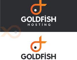 #37 para Design a Logo for Goldfish Hosting por nabudhukka