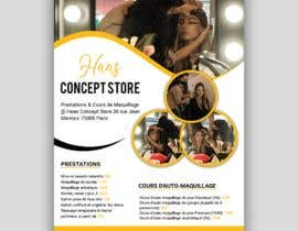 #95 for Flyer for make up lessons by sulovechiran18