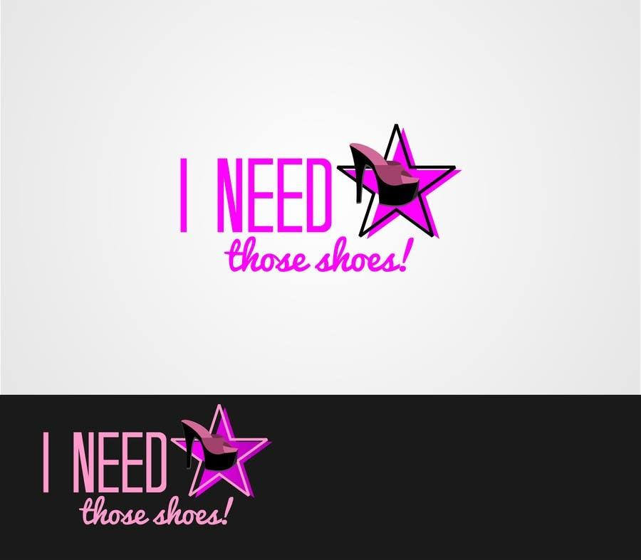 Penyertaan Peraduan #66 untuk Design a Logo for I NEED those shoes