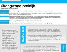 #36 para strongwood new logo and advertising contest de vectorstudios