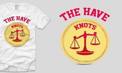 "ezaz09 tarafından T Shirt ""The Have Knots"" for Fortunate Clothing için no 20"