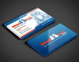 angelacini tarafından Design some Business Cards for Mad Yeti Design için no 50