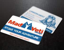 #108 for Design some Business Cards for Mad Yeti Design by s04530612