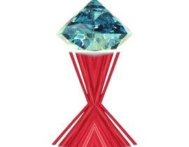 #58 for Design a symbol for a Swiss Diamond Jewellery brand - combining stars and diamonds as a symbol af vickyvermapi