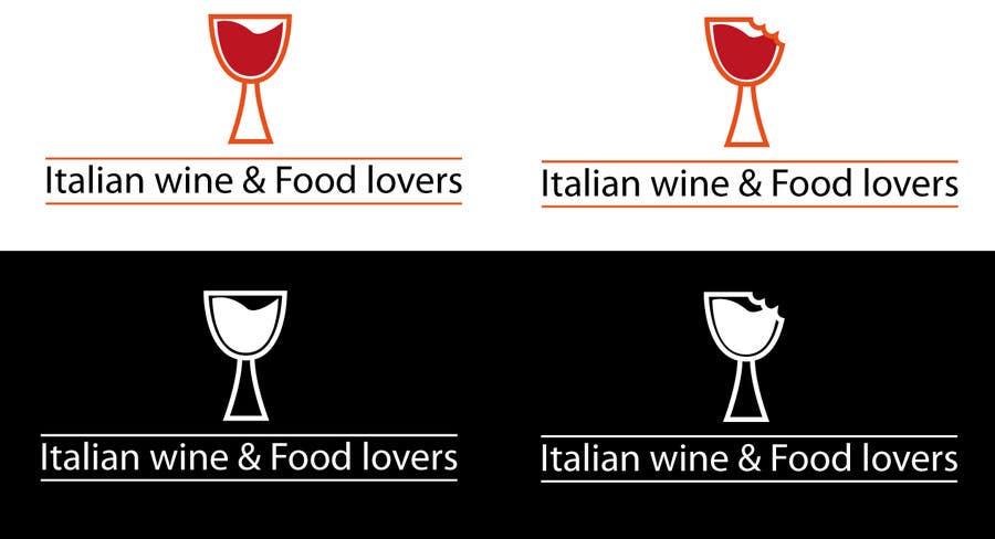 Inscrição nº 54 do Concurso para Logo design for food and wine