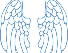 #57 for Design a pair of angel wings for baby clothing af ivanboglajev