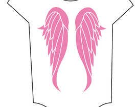 #33 cho Design a pair of angel wings for baby clothing bởi ezanyrio