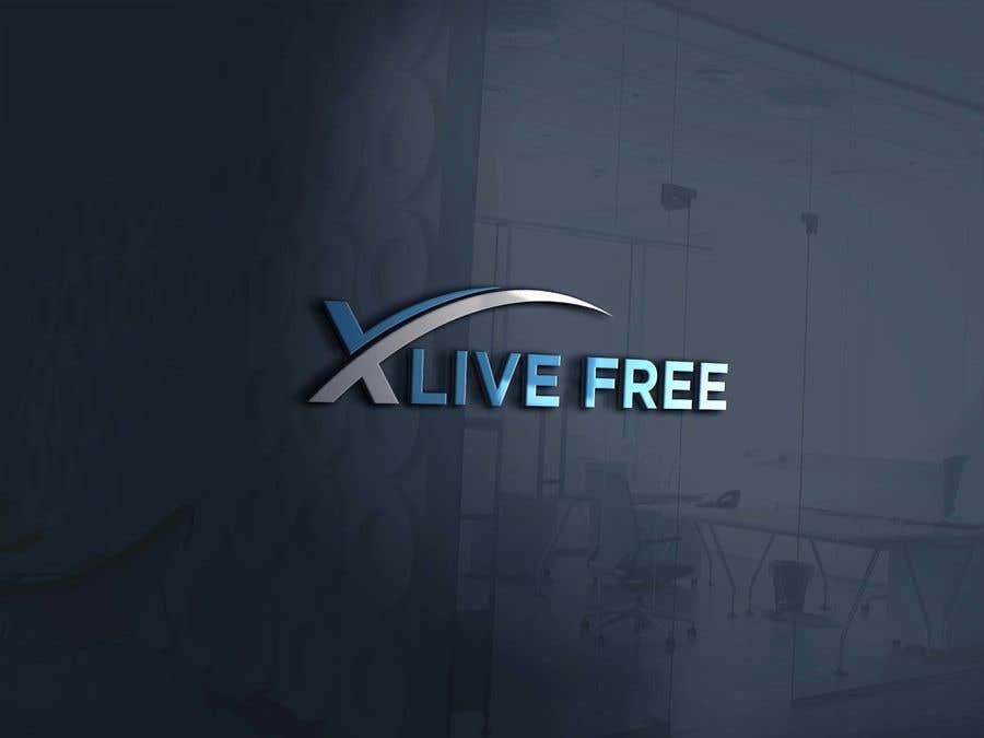 Proposition n°                                        682                                      du concours                                         LOGO CONTEST: X LIVE FREE